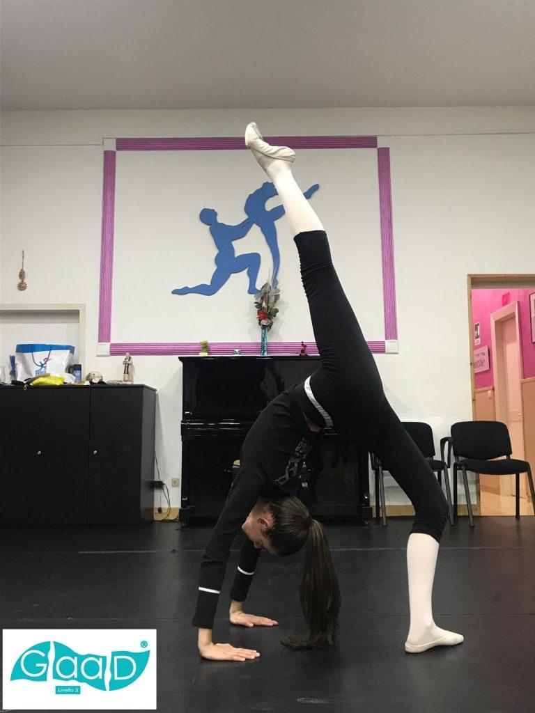 ginnastica artistica applicata alla danza